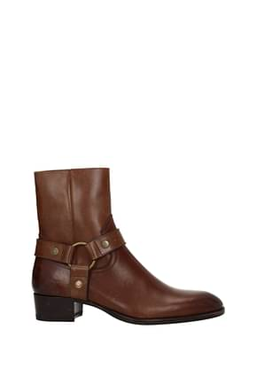 Ankle boots Saint Laurent wyatt Man