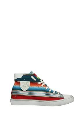 Saint Laurent Sneakers Uomo Tessuto Multicolor