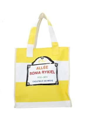 Sonia Rykiel Shoulder bags Women Fabric  Yellow