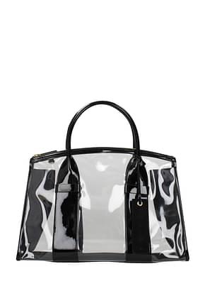Miu Miu Handbags Women Plexiglass Black