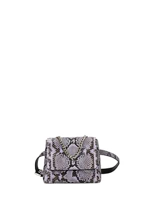 Orciani Handbags Women Leather Python Violet
