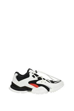Reebok Sneakers Homme Tissu Blanc Noir