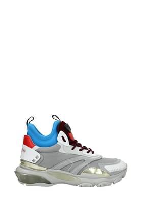 Valentino Garavani Sneakers Men Fabric  Gray
