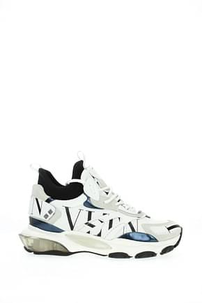 Valentino Garavani Sneakers Uomo Pelle Bianco