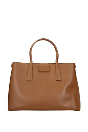 Zanellato Handbags duo metropolitan m Women Leather Brown Cuba