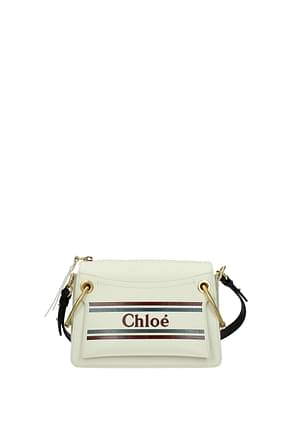 Chloé Shoulder bags Women Leather White