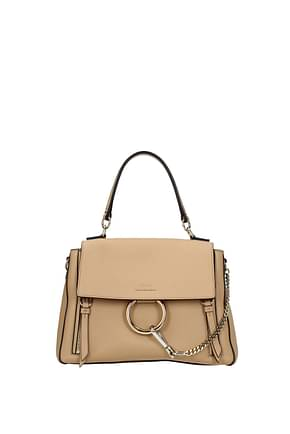 Chloé Handbags Women Leather Pink