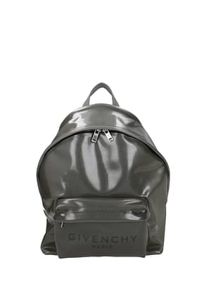 Givenchy Backpack and bumbags urban Men PVC Gray
