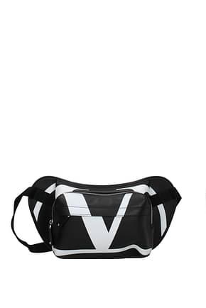 Valentino Garavani Backpack and bumbags Men Leather Black