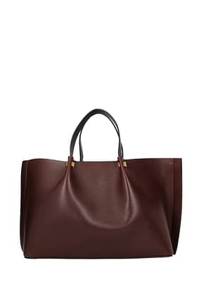 Valentino Garavani Handbags Women Leather Violet