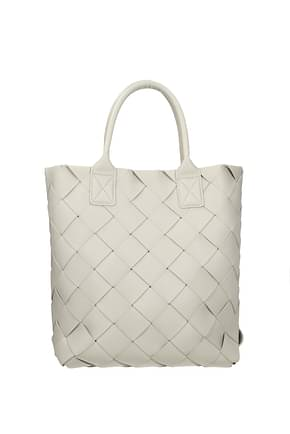Bottega Veneta Handbags Women Leather Beige