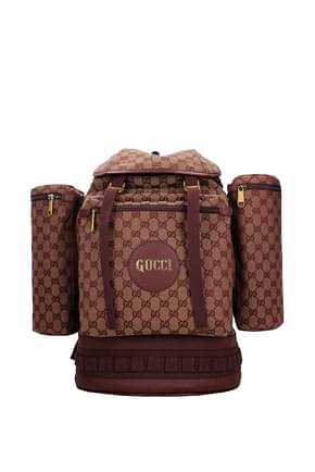 Gucci Backpack and bumbags Men Fabric  Beige