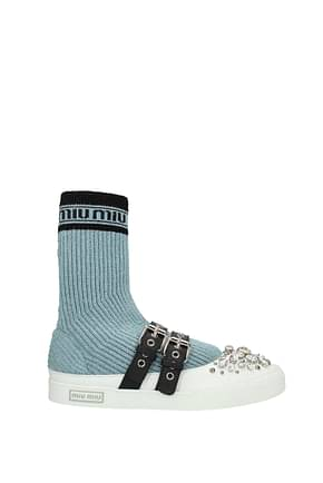 Miu Miu Ankle boots Women Fabric  Heavenly
