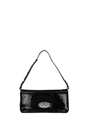 Miu Miu Shoulder bags Women Sequins Black