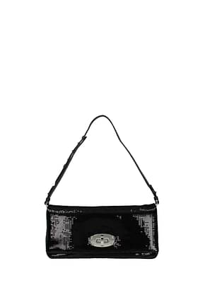 Miu Miu Shoulder bags Women Sequins Black