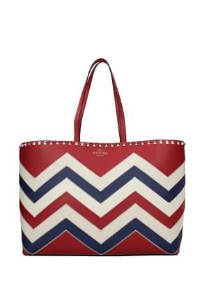Valentino Garavani Shoulder bags Women Leather Red