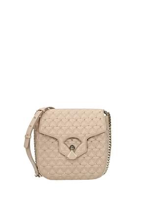 Bulgari Crossbody Bag Women Leather Pink