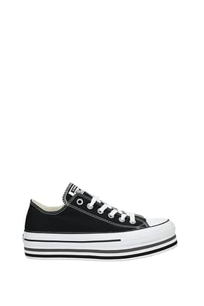 Converse Sneakers Women Fabric  Black