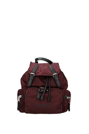 Burberry Backpacks and bumbags Women Nylon Red