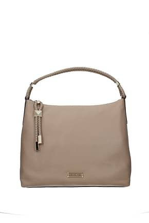 Michael Kors Handbags lexington lg Women Leather Beige