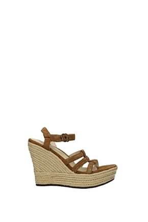 UGG Wedges callia Women Suede Brown