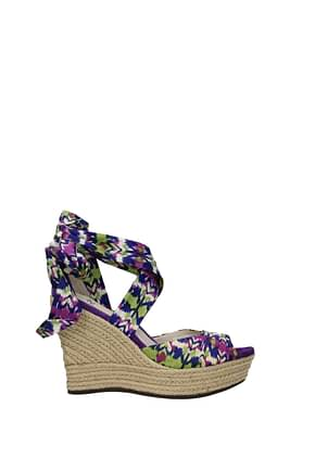 UGG Wedges lucianna Women Fabric  Violet