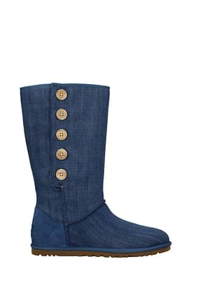 Bottines UGG button Femme