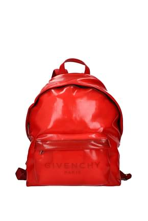 Givenchy Backpack and bumbags urban Men PVC Red
