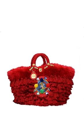 Sacs à main Sikuly red winter Femme