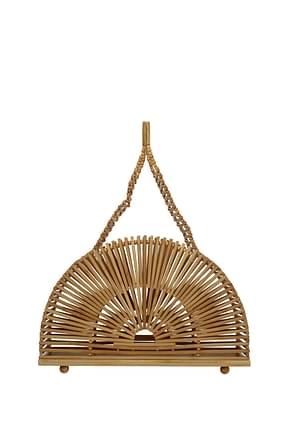 Cult Gaia Handbags cupola Women Bamboo Brown