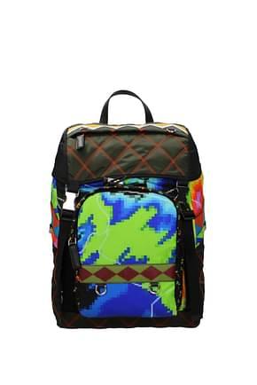 Prada Backpack and bumbags Men Fabric  Multicolor