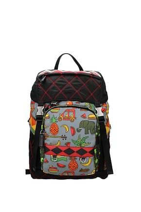 Backpack and bumbags Prada Men