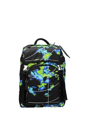 Prada Backpack and bumbags radar Men Fabric  Multicolor