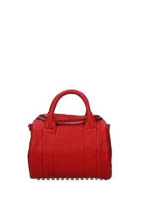 Alexander Wang Handbags Women Leather Red
