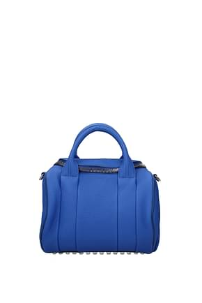 Alexander Wang Handbags Women Leather Blue