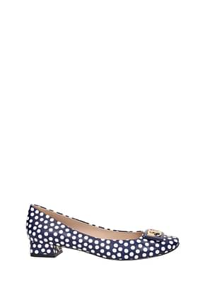 Tory Burch Pumps gigi Damen Leder Blau