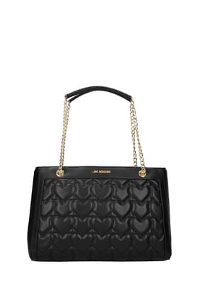 Love Moschino Shoulder bags Women Polyurethane Black