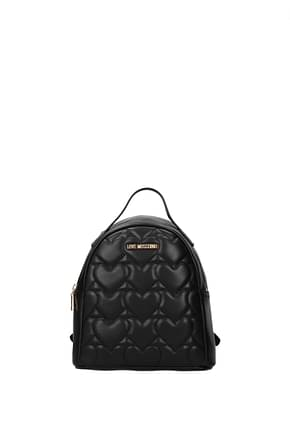 Love Moschino Backpacks and bumbags Women Polyurethane Black