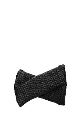 Bottega Veneta Clutches Women Leather Black