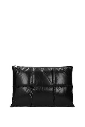Bottega Veneta Clutches Men Leather Black