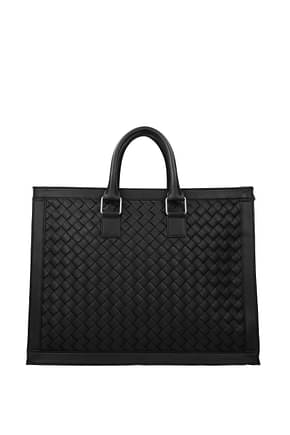 Bottega Veneta Work bags Men Leather Black