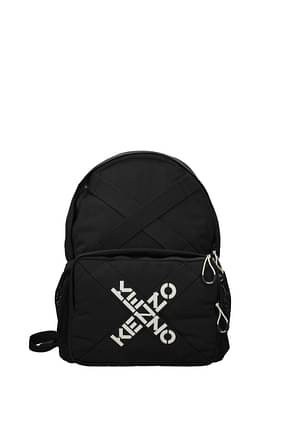 Kenzo Backpacks and bumbags Women Fabric  Black