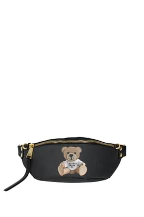 Moschino Backpacks and bumbags Women Fabric  Black