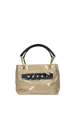 Marni Handbags Women PVC Beige