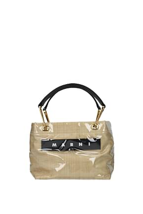 Marni Handbags Women PVC Beige