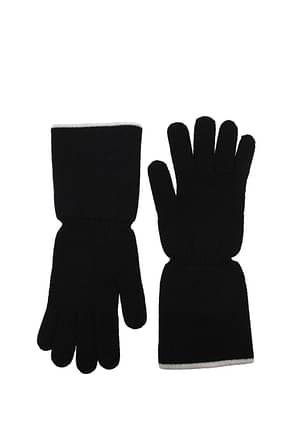 Kangra Gloves Women Merino Wool Black
