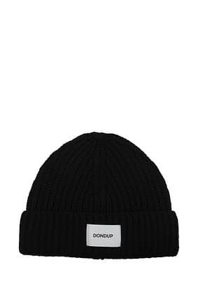 Dondup Hats Men Acrylic Black