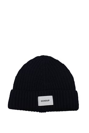 Dondup Hats Men Acrylic Blue