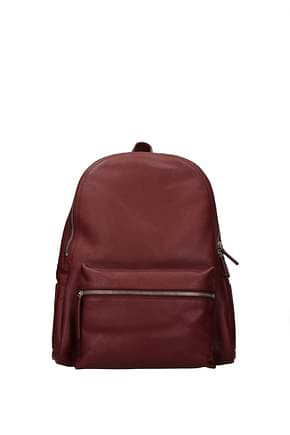 Orciani Backpacks and bumbags Women Leather Red Bordeaux