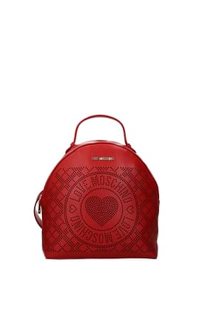 Love Moschino Backpacks and bumbags Women Polyurethane Red